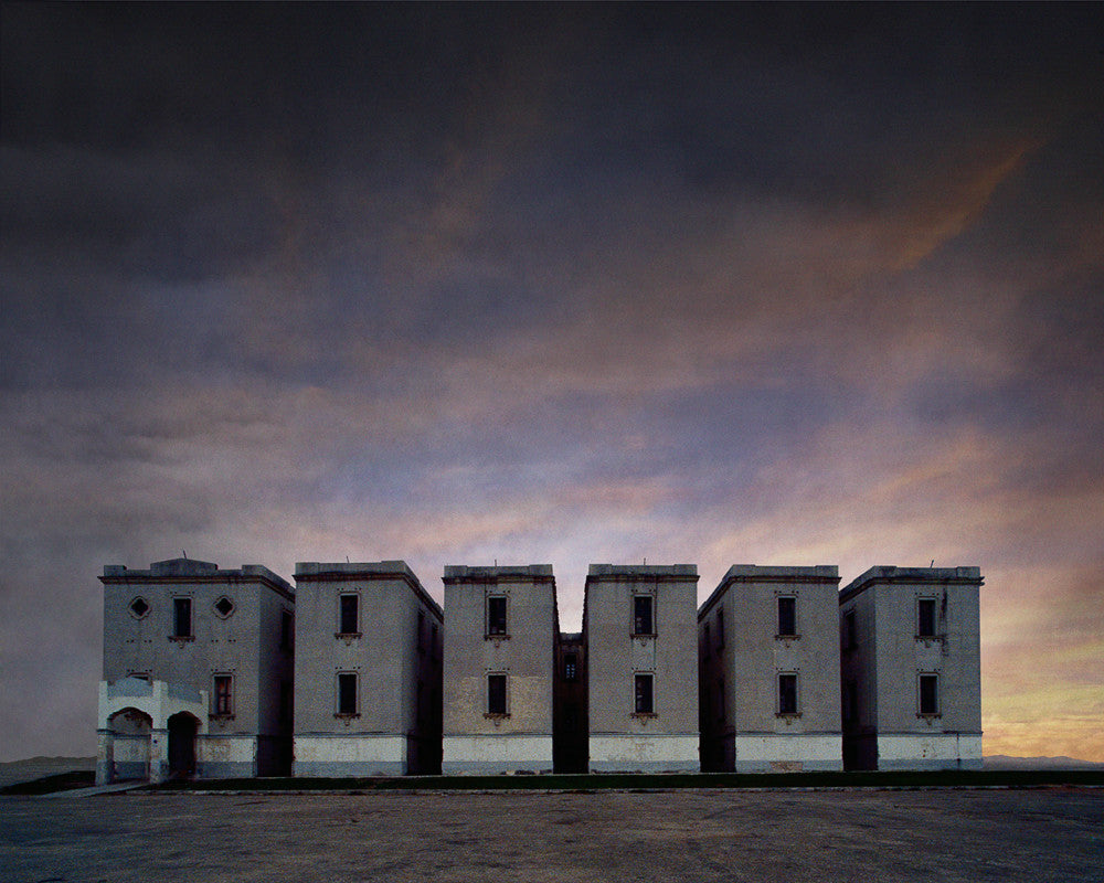 Apartment Complex, Havana, Cuba - Ed Freeman Fine Art