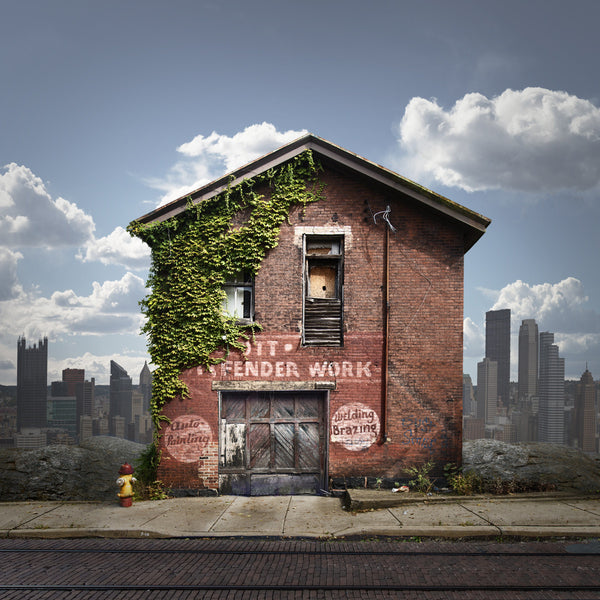 Auto Repair, Pittsburgh, Pennsylvania - Ed Freeman Fine Art