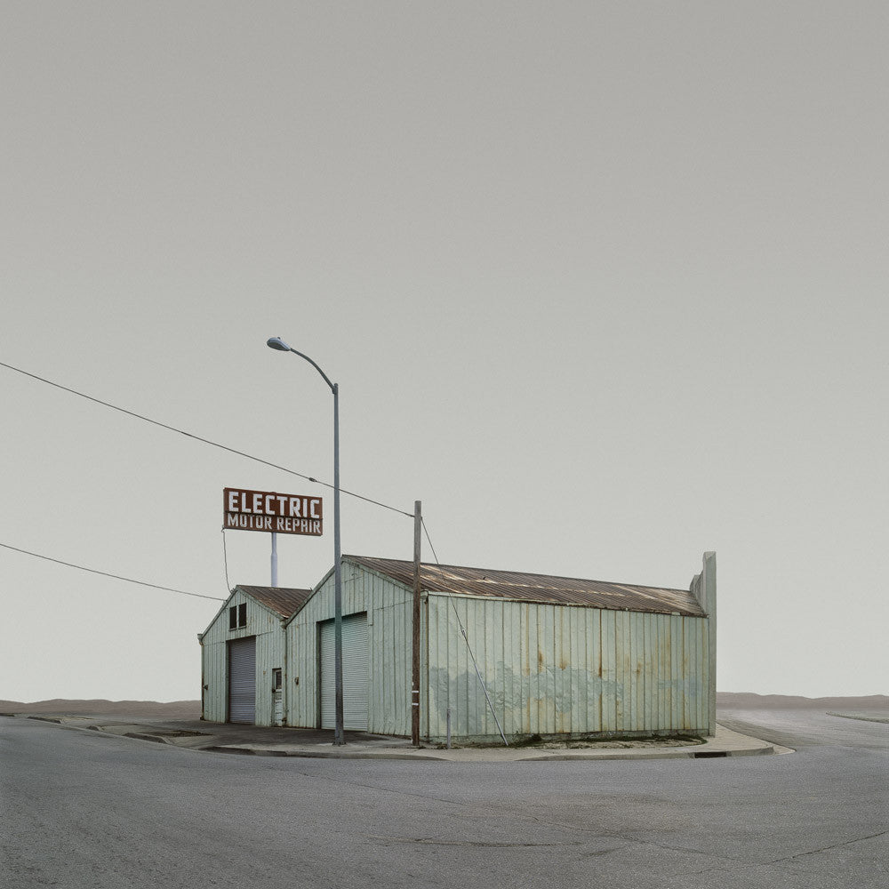 Electric Supply, Bakersfield, California - Ed Freeman Fine Art