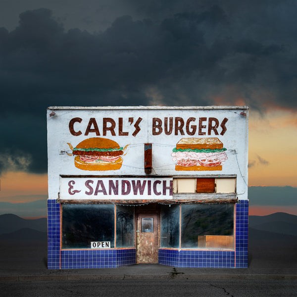 Carl's Burgers, Caliente, Nevada - Ed Freeman Fine Art