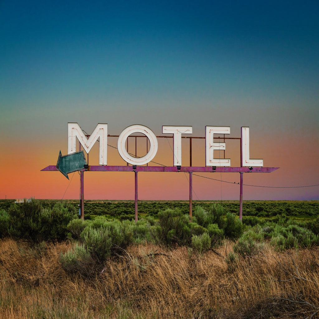Motel Sign, Coulee WA