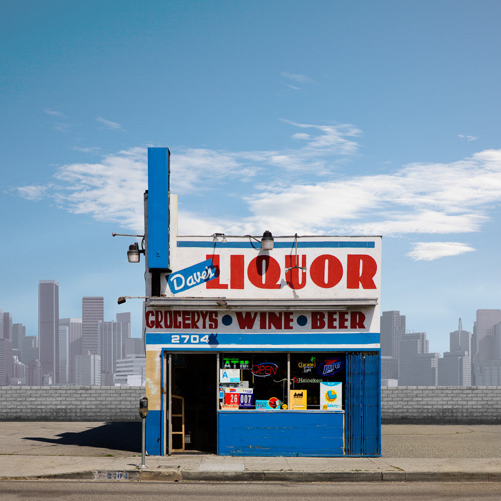 Dave's Liquor, Los Angeles - Ed Freeman Fine Art