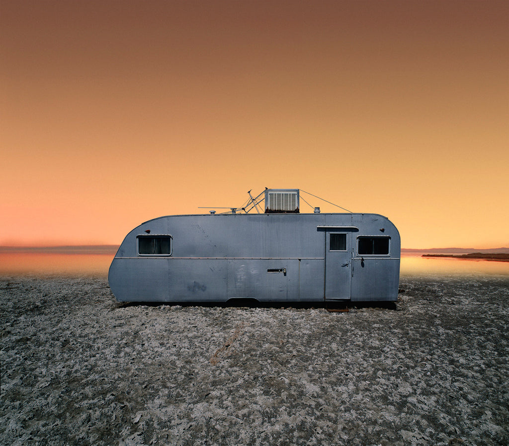 Sunset Trailer - Ed Freeman Fine Art