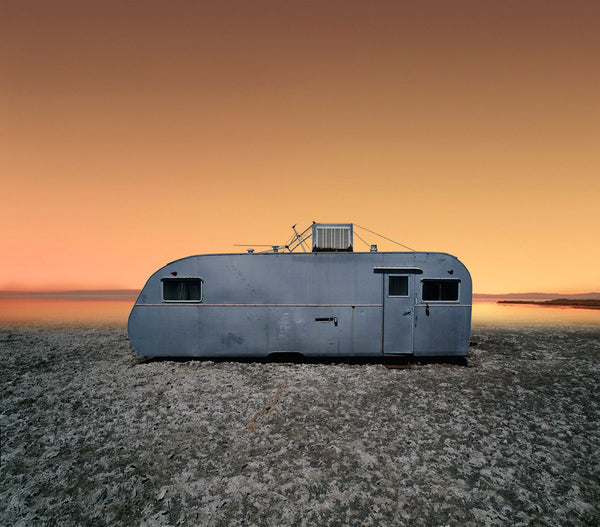 Sunset Trailer, Salton Sea, California - Ed Freeman Fine Art
