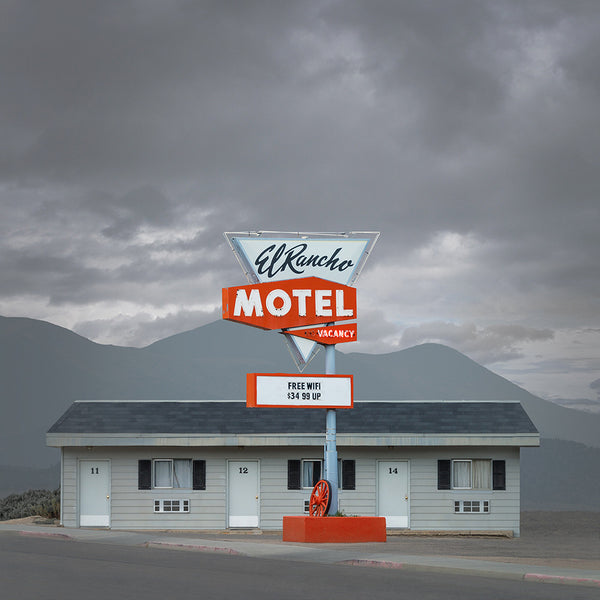El Rancho Motel, Ely, Nevada - Ed Freeman Fine Art