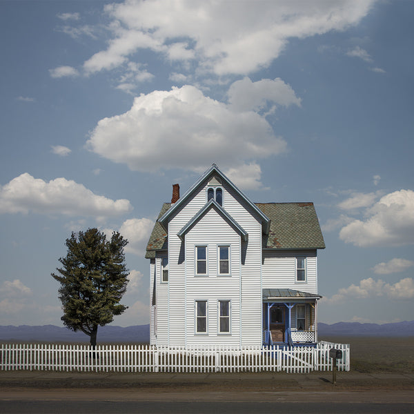Farmhouse, Route 11, New York State - Ed Freeman Fine Art