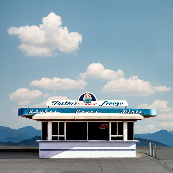 Fosters Freeze, Brawley, California - Ed Freeman Fine Art
