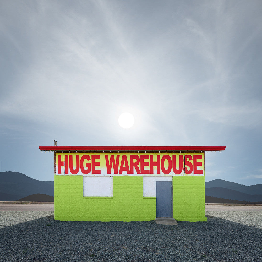 Huge Warehouse, Lordsburg, New Mexico - Ed Freeman Fine Art