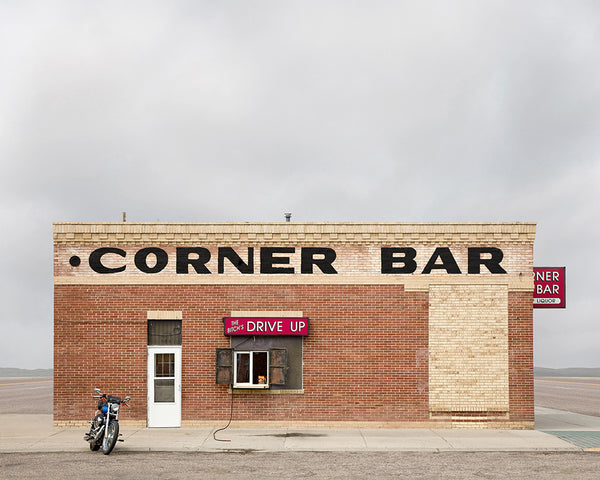 Corner Bar, Lingle, Wyoming - Ed Freeman Fine Art