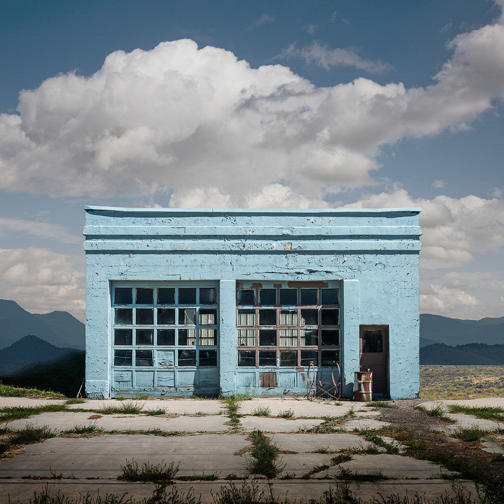 Garage, Malad, Idaho - Ed Freeman Fine Art