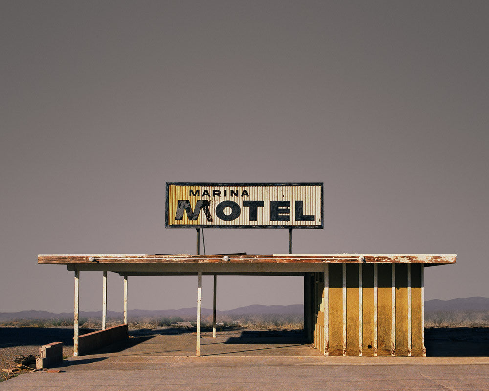 Marina Motel, Salton Sea, California - Ed Freeman Fine Art