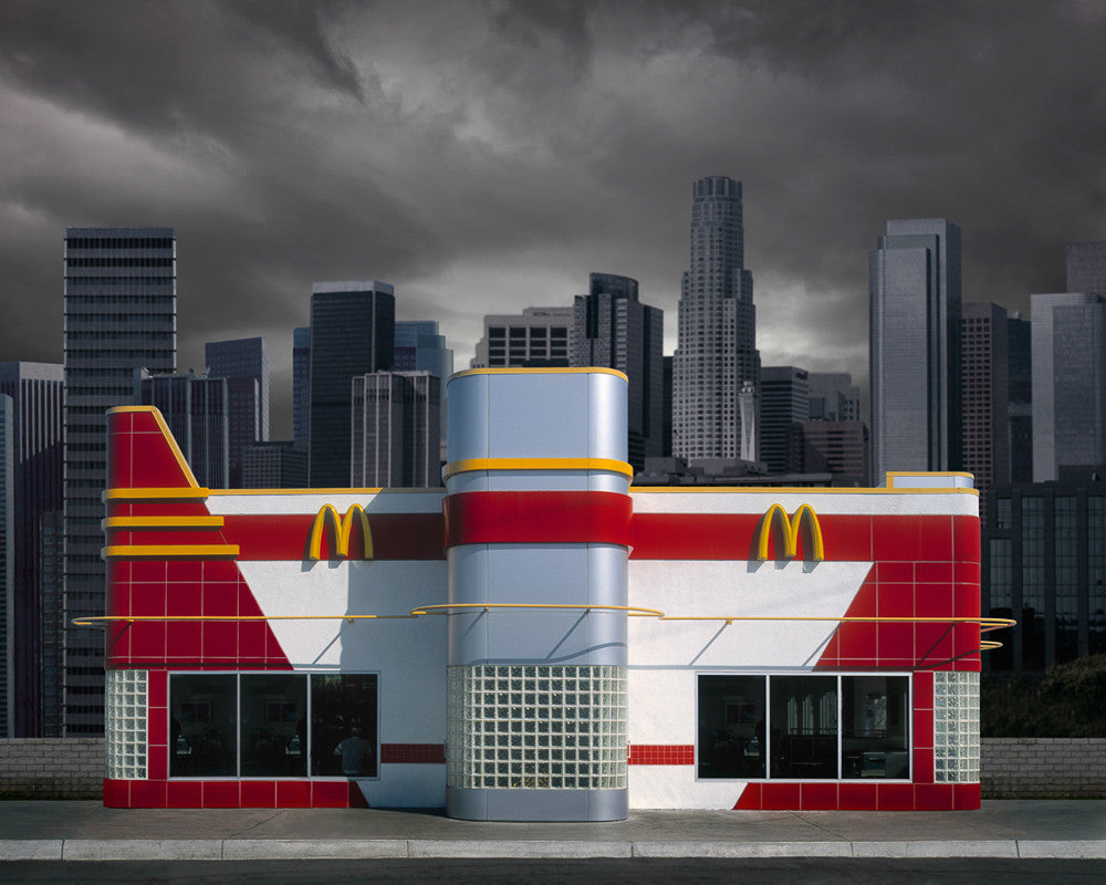 McDonalds, Los Angeles - Ed Freeman Fine Art