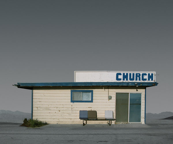 Church, Mojave, California - Ed Freeman Fine Art