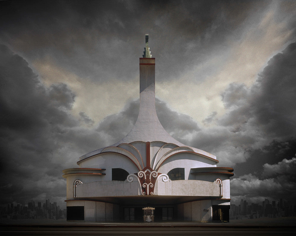 Movie Theater, Los Angeles - Ed Freeman Fine Art