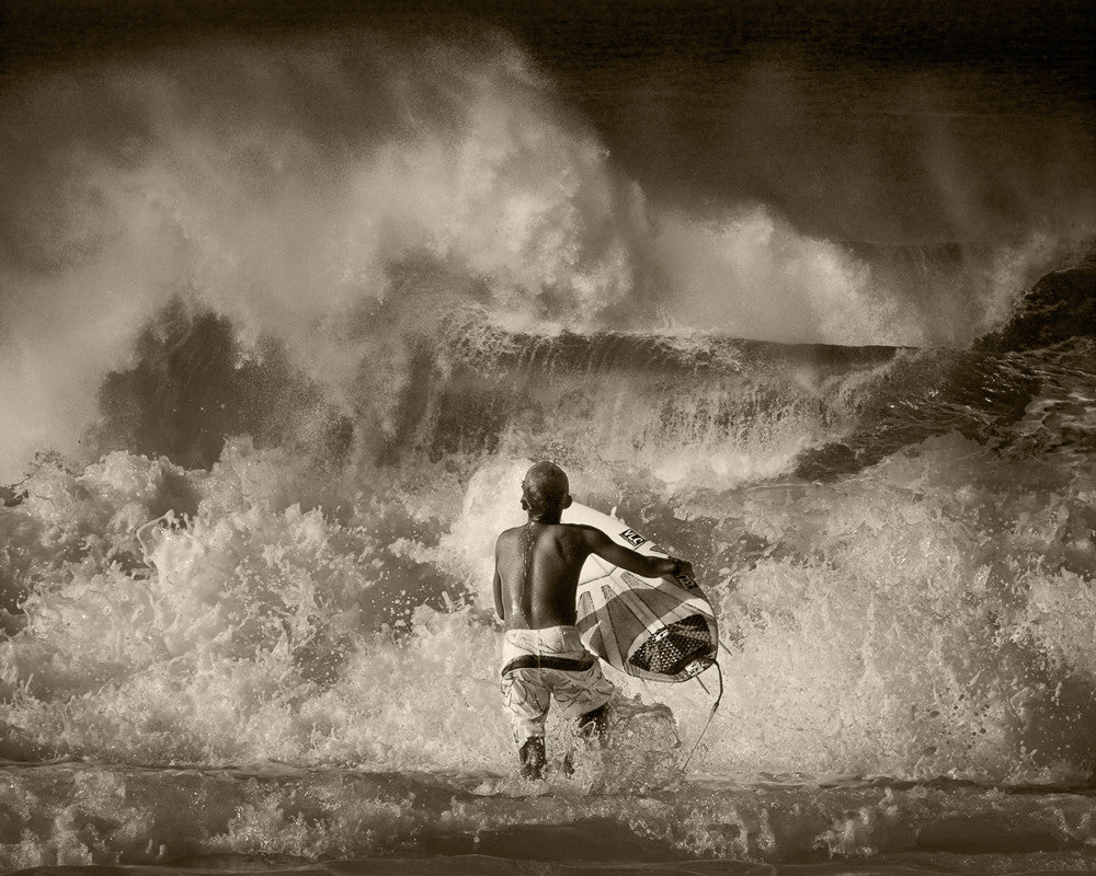 North Shore Surfing #08 - Ed Freeman Fine Art