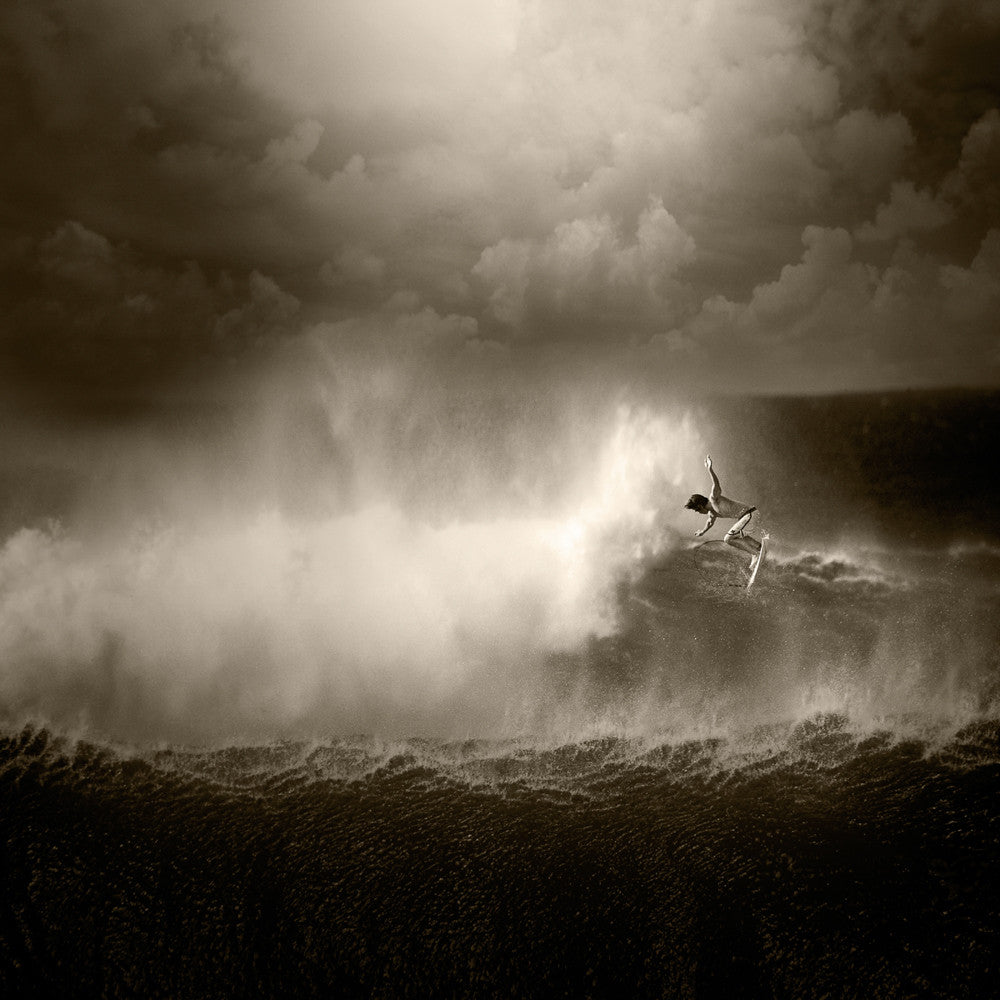 North Shore Surfing #15 - Ed Freeman Fine Art
