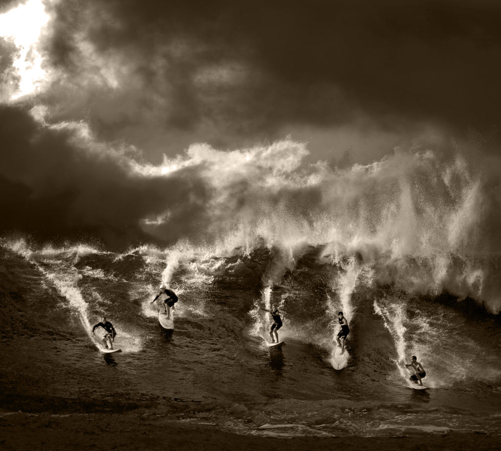 North Shore Surfing #22 - Ed Freeman Fine Art