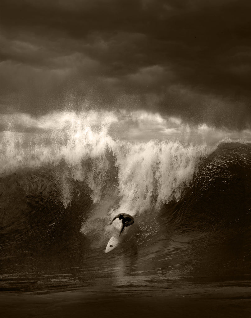 North Shore Surfing #23 - Ed Freeman Fine Art