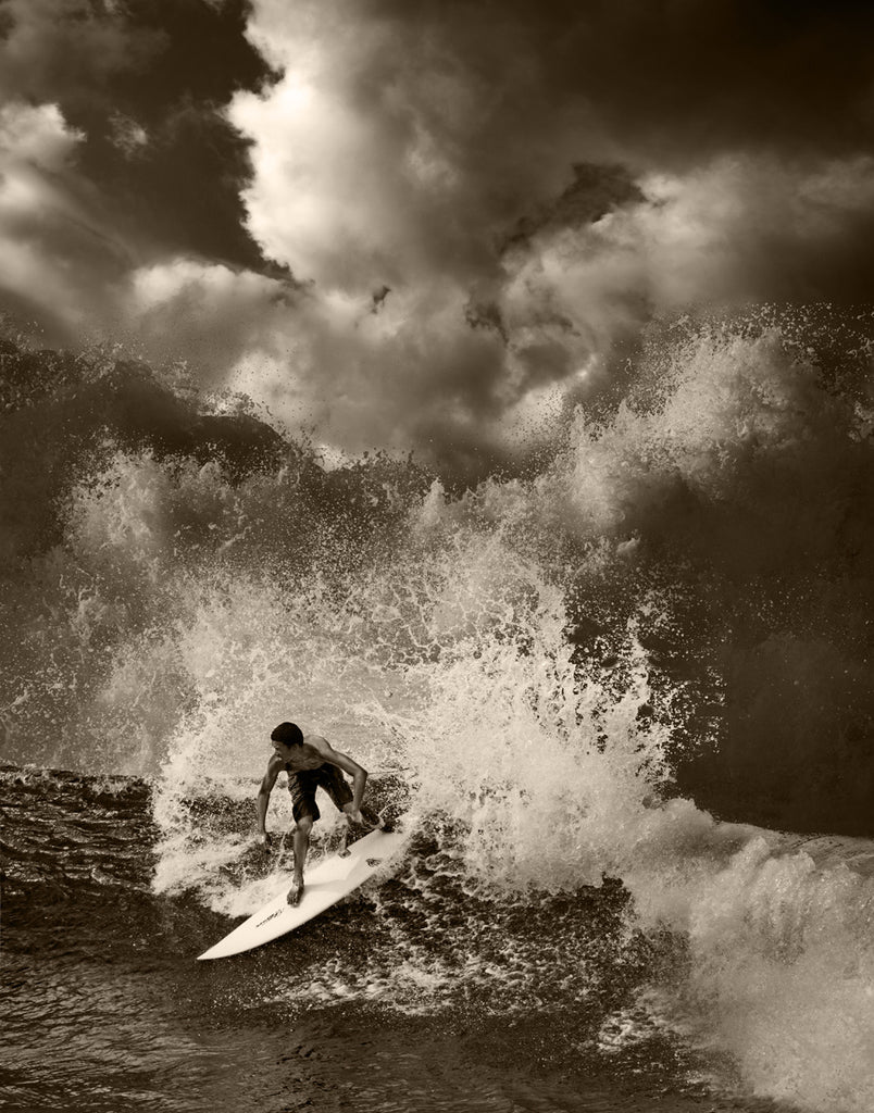 North Shore Surfing #25 - Ed Freeman Fine Art