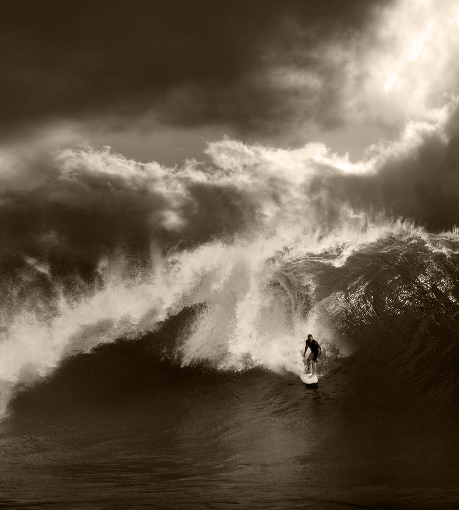 North Shore Surfing #27 - Ed Freeman Fine Art