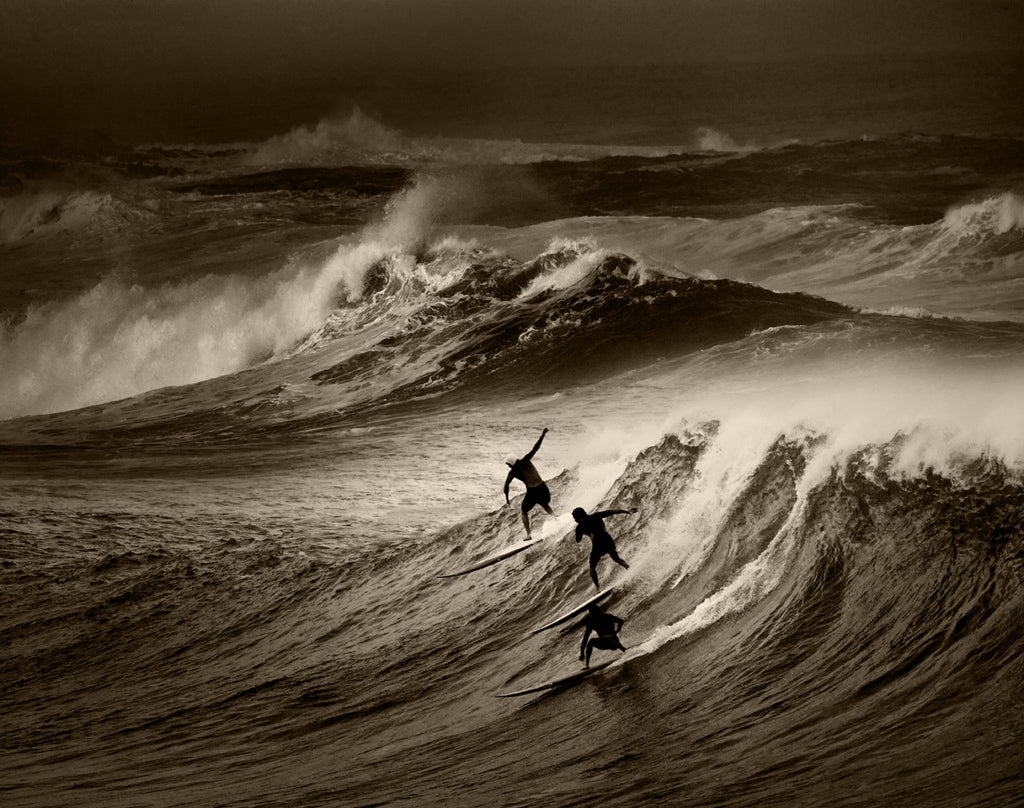 North Shore Surfing #29 - Ed Freeman Fine Art