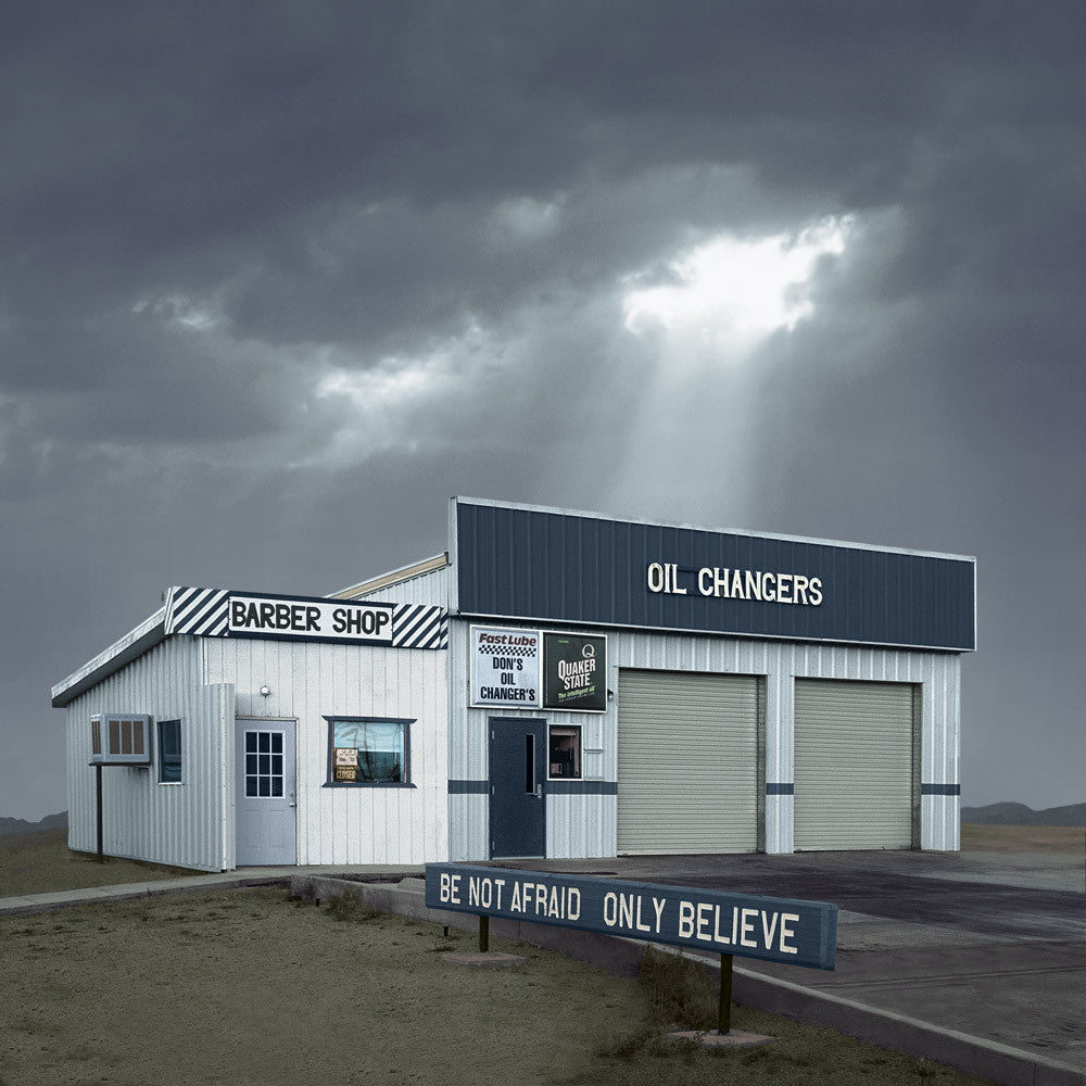 Oil Changers, Mojave, California - Ed Freeman Fine Art