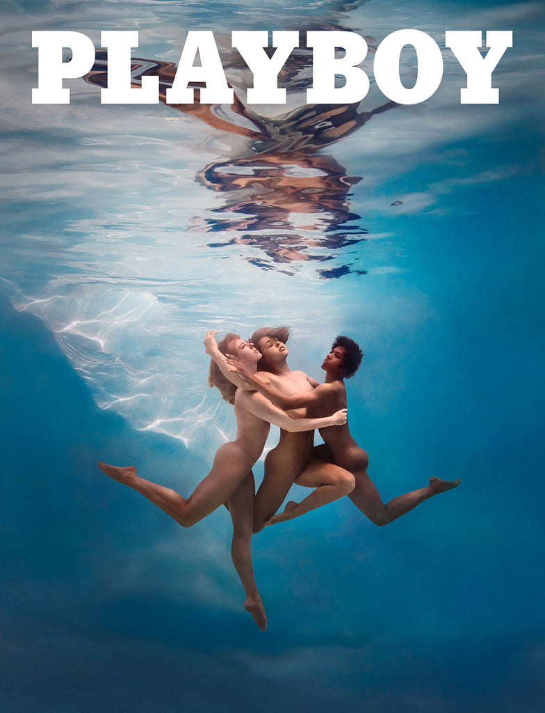 Underwater PLAYBOY Cover 2019 - Ed Freeman Fine Art