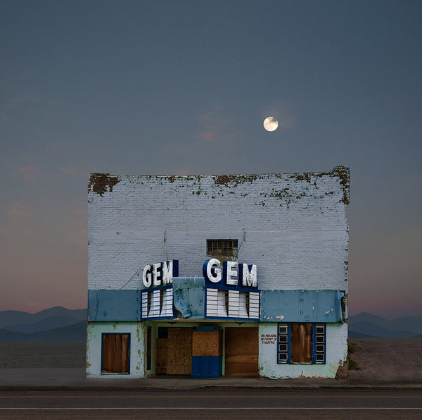 GEM Theater, Pioche, Nevada - Ed Freeman Fine Art
