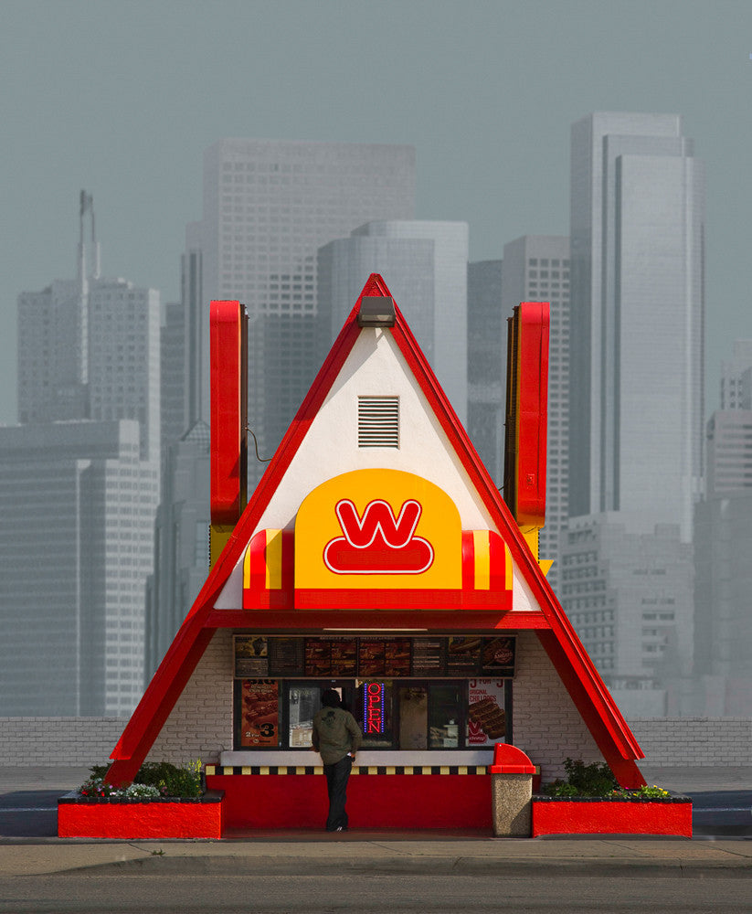 Pyramid Wienerschnitzel, Los Angeles - Ed Freeman Fine Art