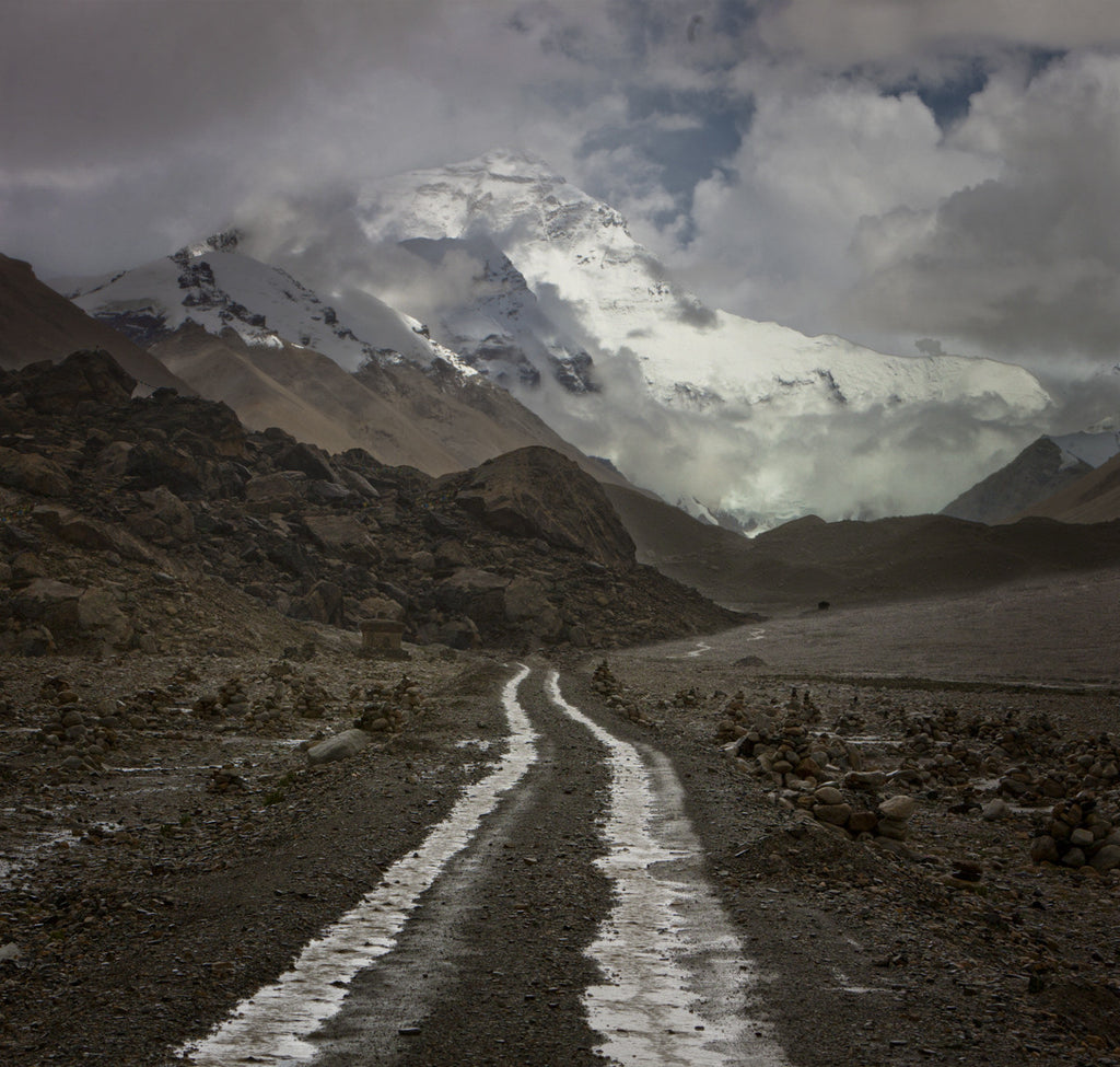 Road to Base Camp, Mount Everest, Tibet