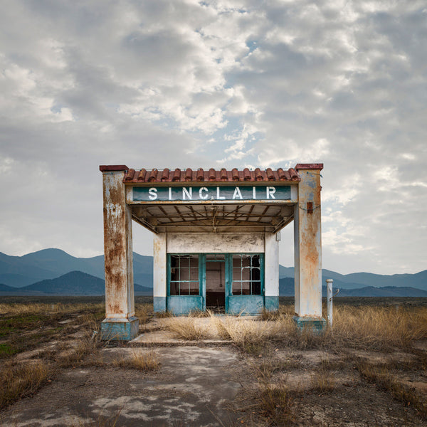 Sinclair Gas, Gustine, Texas - Ed Freeman Fine Art
