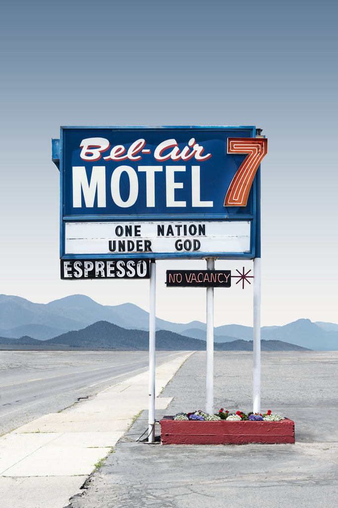 Bel-Air Motel - Spokane, WA. - Ed Freeman Fine Art