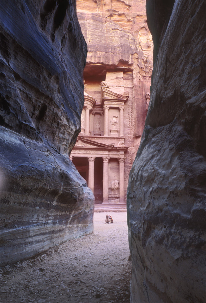 Treasury Building, Petra, Jordan - Ed Freeman Fine Art
