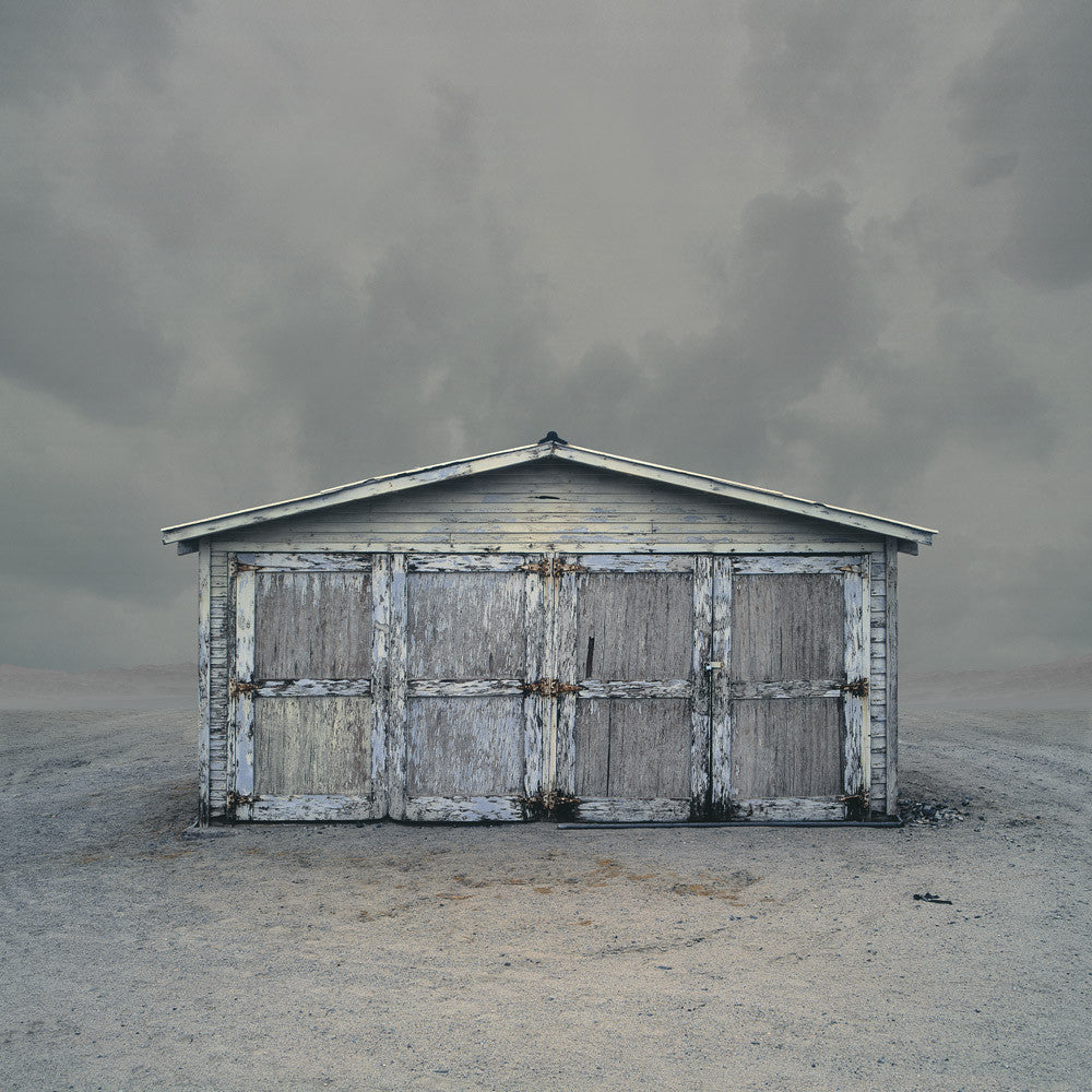 Garage, Trona, California - Ed Freeman Fine Art