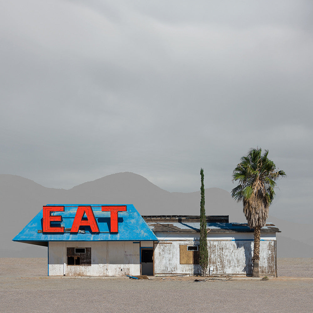 Abandoned Restaurant, Victorville, California - Ed Freeman Fine Art
