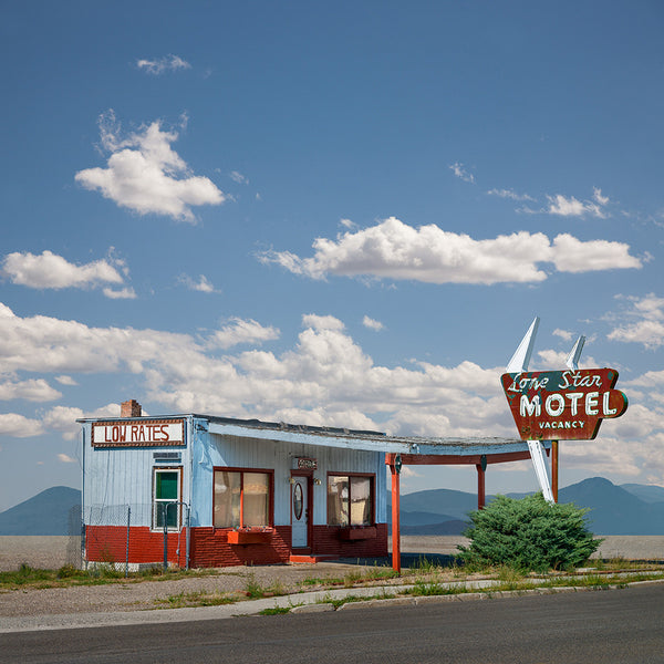 Lone Star Motel, Wells, Nevada - Ed Freeman Fine Art