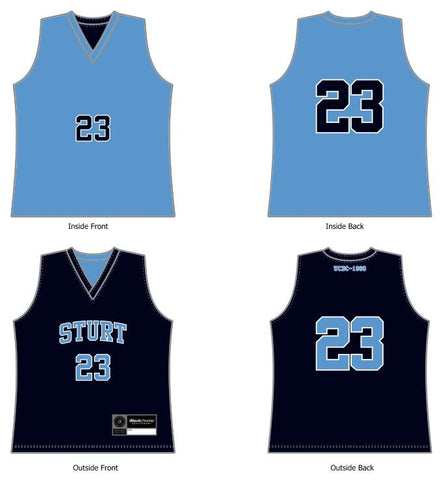 Sturt Sabres District Reversible Training Singlet - New Design