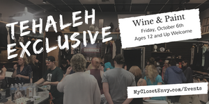Tehaleh Exclusive Wine & Paint Night