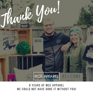 8 Years of MCE Apparel