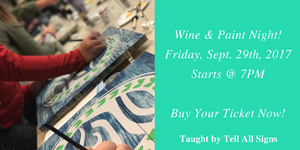 September Wine and Paint Night