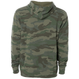 Oregon Roots Hoodie, Unisex - Army Camo - MCE Apparel