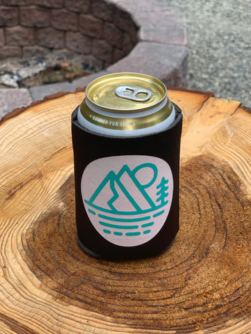 Chelan Koozie, Black - MCE Apparel