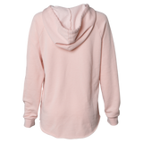 Lake Tapps Housewife Hoodie Back, Blush - MCE Apparel