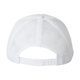 Lake Tapps Homies Trucker Hat Back, White - MCE Apparel