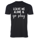 Go Play Tee, Black - Karter Collection x MCE Apparel