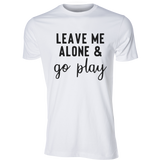 Go Play Tee, White - Karter Collection x MCE Apparel