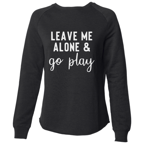 Go Play Women's Crew, Black - Karter Collection x MCE Apparel