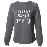 Go Play Women's Crew, Heather Grey - Karter Collection x MCE Apparel