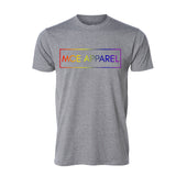 PRIDE! Tee, Light Grey - MCE Apparel