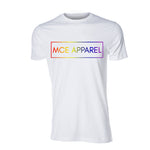 PRIDE! Tee, White - MCE Apparel